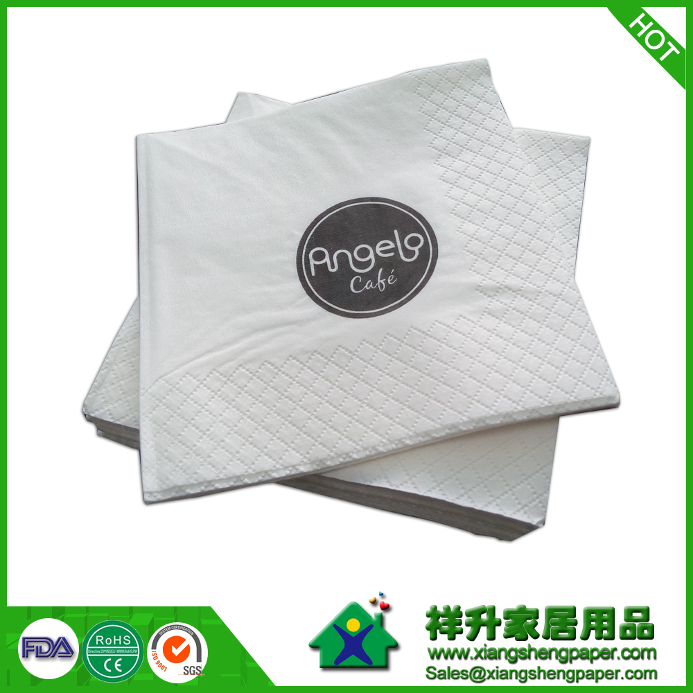 Paper Napkins With Logo Customized Dinner Napkin Printed Custom Personalized